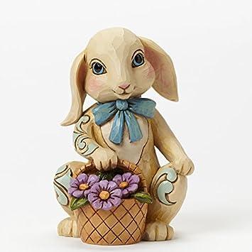 Jim Shore Heartwood Creek Hopeful Hopping Pint Sized Bunny Easter Figurine