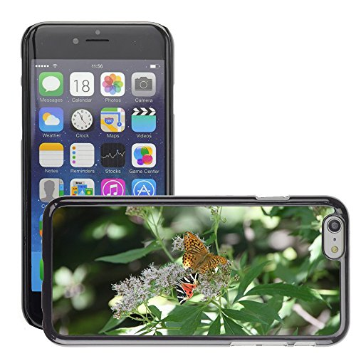 "Bild Hart Handy Schwarz Schutz Case Cover Schale Etui // M00135744 Arctiidae Schmetterling cannabinum // Apple iPhone 6 PLUS 5.5"""