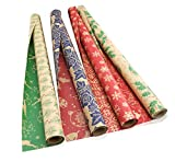 Christmas Wrapping Paper Rolls | Kraft Gift