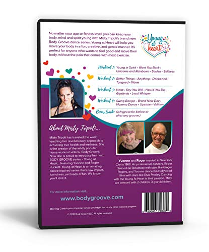 Body Groove Young at Heart DVD by Body Groove (Image #1)