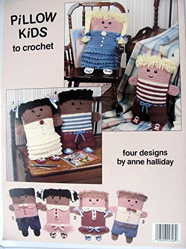 Leisure Arts 2306: Pillow Kids to Crochet leaflet