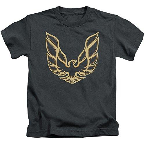 Iconic Muscle Tee - Juvenile: Pontiac- Iconic Firebird Emblem Kids T-Shirt Size 6-May