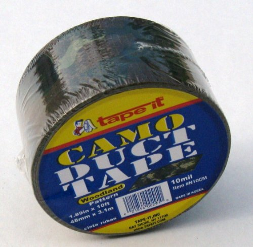 Tape it N10CM Camo/Camouflage Print All Purpose Duct Tape, 1