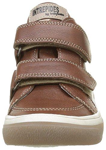 Babybotte Kadreur 1B4303 - Zapatillas con velcro para niños Marrón (315 Marron)