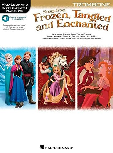 Songs from Frozen, Tangled and Enchanted: Trombone (Hal Leonard Instrumental Play-along)