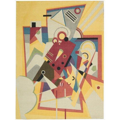 - Nourison Modern Art (MDR01) Gdrod Rectangle Area Rug, 8-Feet by 10-Feet  (8' x 10')
