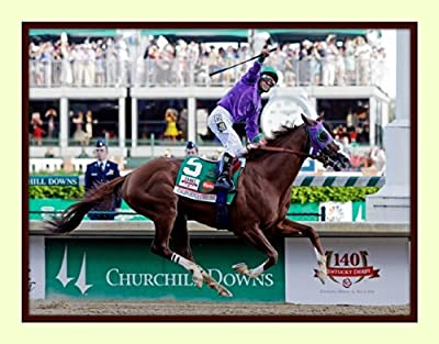 2014 Horse of the Year California Chrome 2014 Kentucky Derby11x14 Double Matted Photo Print 8x10 Image