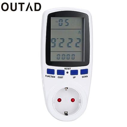 Buy Pinkdose® Digital Energy Power Meter Watt Volt Amp