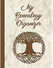 My Genealogy Organizer: Track and Record Your Research Into Your Family History