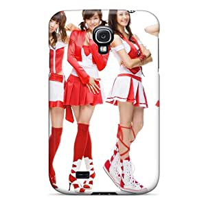 Kallard Design High Quality School Girls In White And Red Cover Case With Excellent Style For Galaxy S4