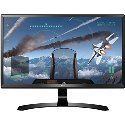 LG 24UD58-B 24-Inch 4K UHD IPS Monitor with FreeSync (Best Size For 4k Computer Monitor)