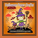 Best Halloween Crafts - Halloween Paper Crafts: Cut Out Decorations, Bookmarks Review
