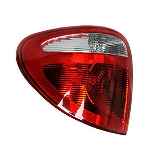 (Headlights Depot Replacement for Chrysler Dodge Town Caravan Grand & Caravan Country Left Driver Side Tail Light)