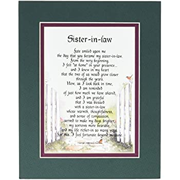 A Gift Present Poem For Sister In Law Birthday 91