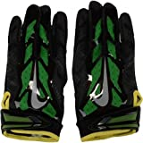 Oregon Ducks Team-Issued Black and Green Vapor Jet 3 Nike Football Gloves - Size 3XL - Fanatics Authentic Certified
