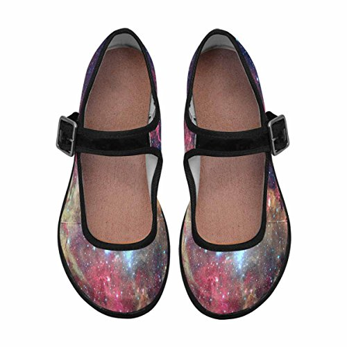 InterestPrint Womens Comfort Mary Jane Flats Casual Walking Shoes Multi 14 6QSdNce