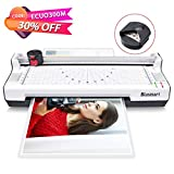 #6: 4 in 1 Blusmart OL288 Laminator, A4, Rotary Trimmer/Corner Rounder/10 Laminating Pouches, White