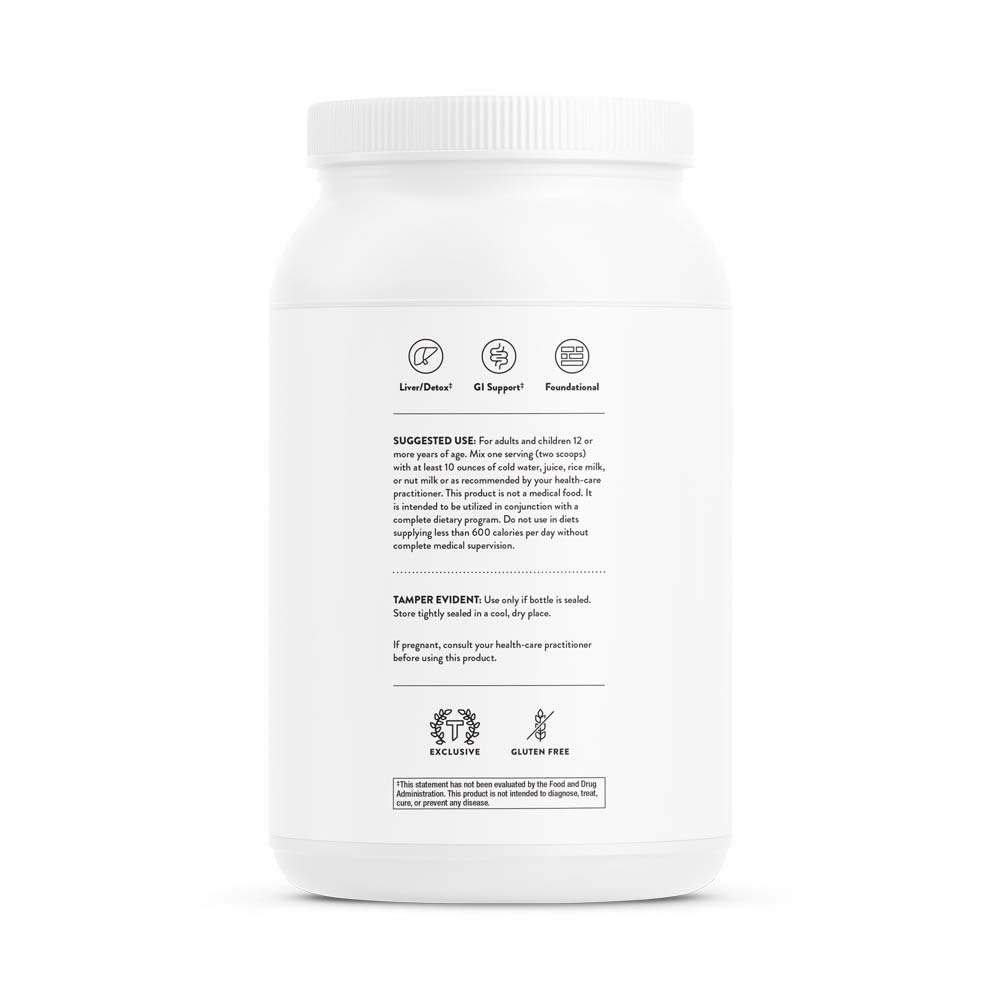 Thorne Research - MediClear-SGS (Chocolate) - Detox, Cleanse, and Weight Management Support - Rice and Pea Protein-Based Drink Powder with a Complete Multivitamin-Mineral Profile - 37.9 oz. by Thorne Research (Image #9)