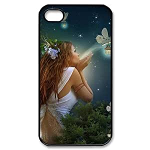 LIULAOSHI Night Fairy Phone Case for iphone4 Black [Pattern-5] by Maris's Diary