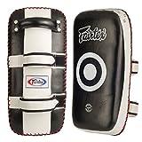 Ringside Fairtex Muay Thai MMA Kickboxing Training Curved Kick Pads (Pair)