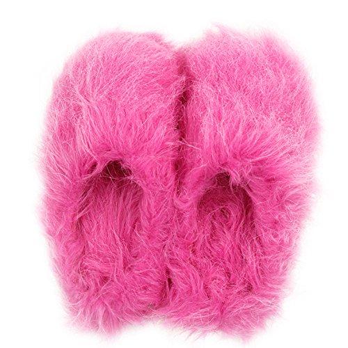 Bureau Home Peluche Maison Printemps Pour Femme Hiver Longue Pantoufles Rose Slipper Mules Chaud Chaussons Automne En rqxCrwPn