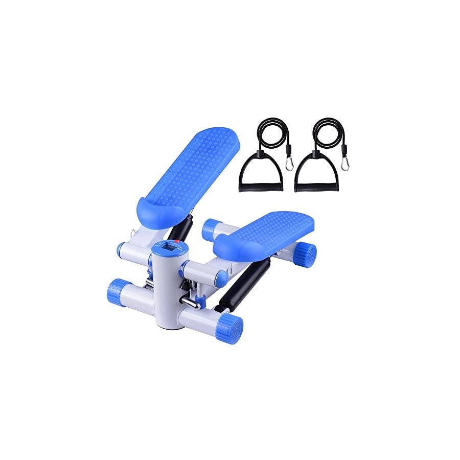 Air Stair Climber Stepper Exercise Machine Aerobic Fitness Full Cardio Workout And Toned Body As Well As Full Body Workout Durable Equipment
