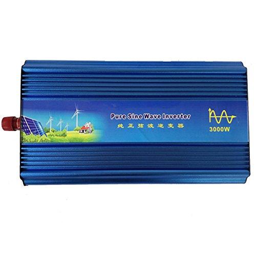 Holdwell DC 12V to AC 220V AC200-240V Power Pure Sine Wave Inverter 3000W (220 Copier)
