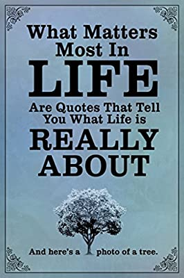 Amazoncom What Matters Most In Life Are Quotes Blue Poster 12x18