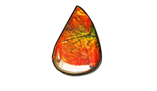 Wholesale Gemstone Pendant Cabochon Craft Suppliers AG-5853 Size 30X21X5 MM Red Flashy Ammonites Awesome Genuine Ammolite Oval Cabochon