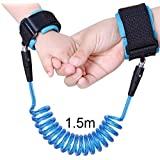 Safety Anti Lost Wrist Link Leash 360° Rotate Safety...