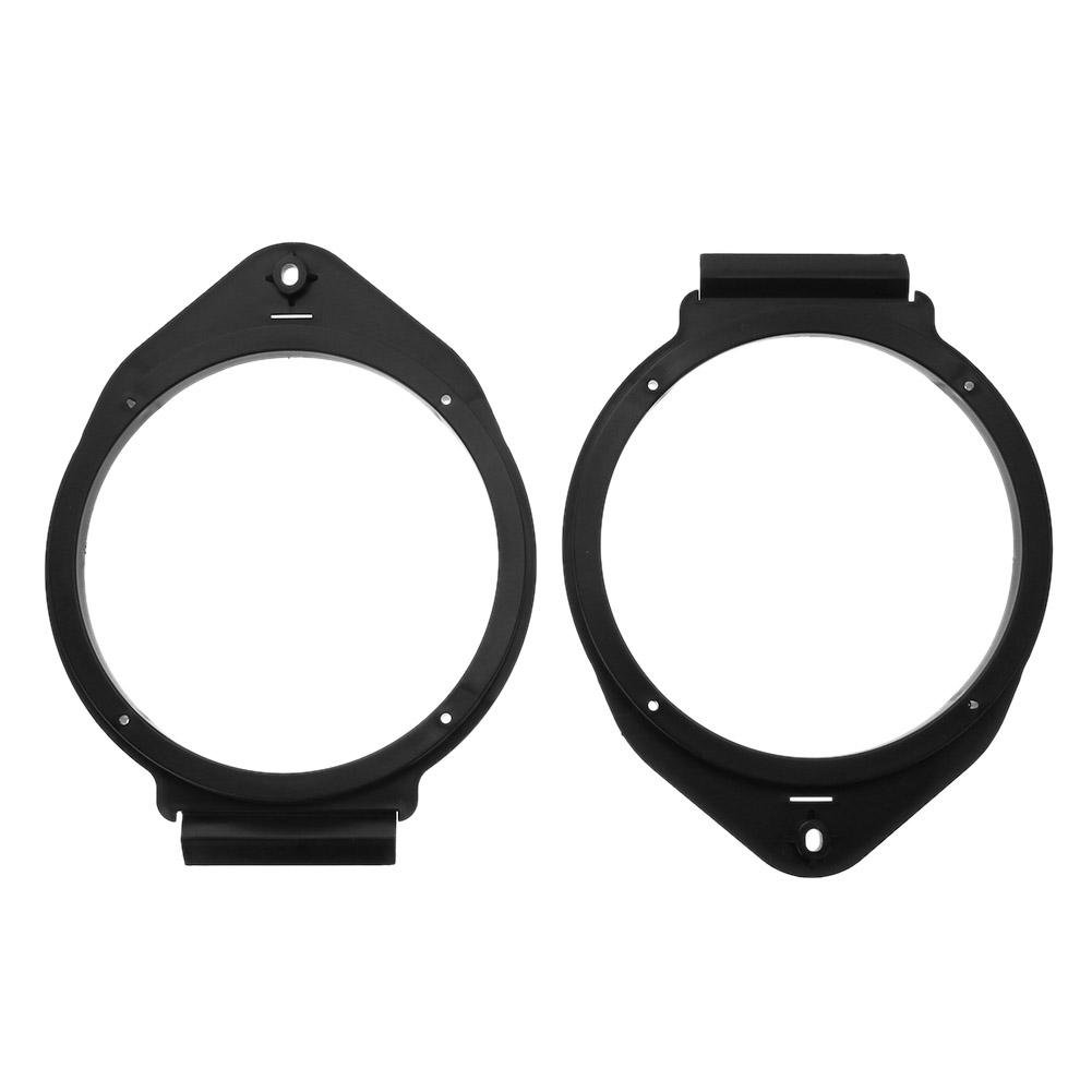 MKChung 2pcs 6.5in Car Front Rear Door Speaker Adapter Brackets for Chevrolet Buick
