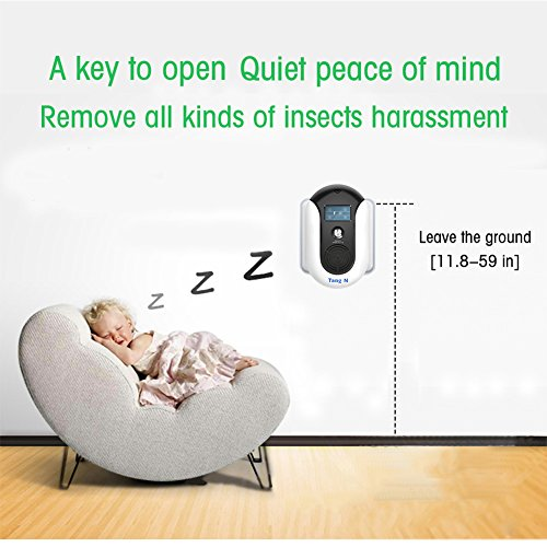 TangN Pest Repellent,Ultrasonic Pest Control Mouse Plug in,Indoor Outdoor Electronic Control Rodent,Mosquito,Insect,Roach,Spider,Ant,Rat And Flea,Safe Control NO Chemicals Ultrasonic Pest Repeller. by TangN (Image #2)