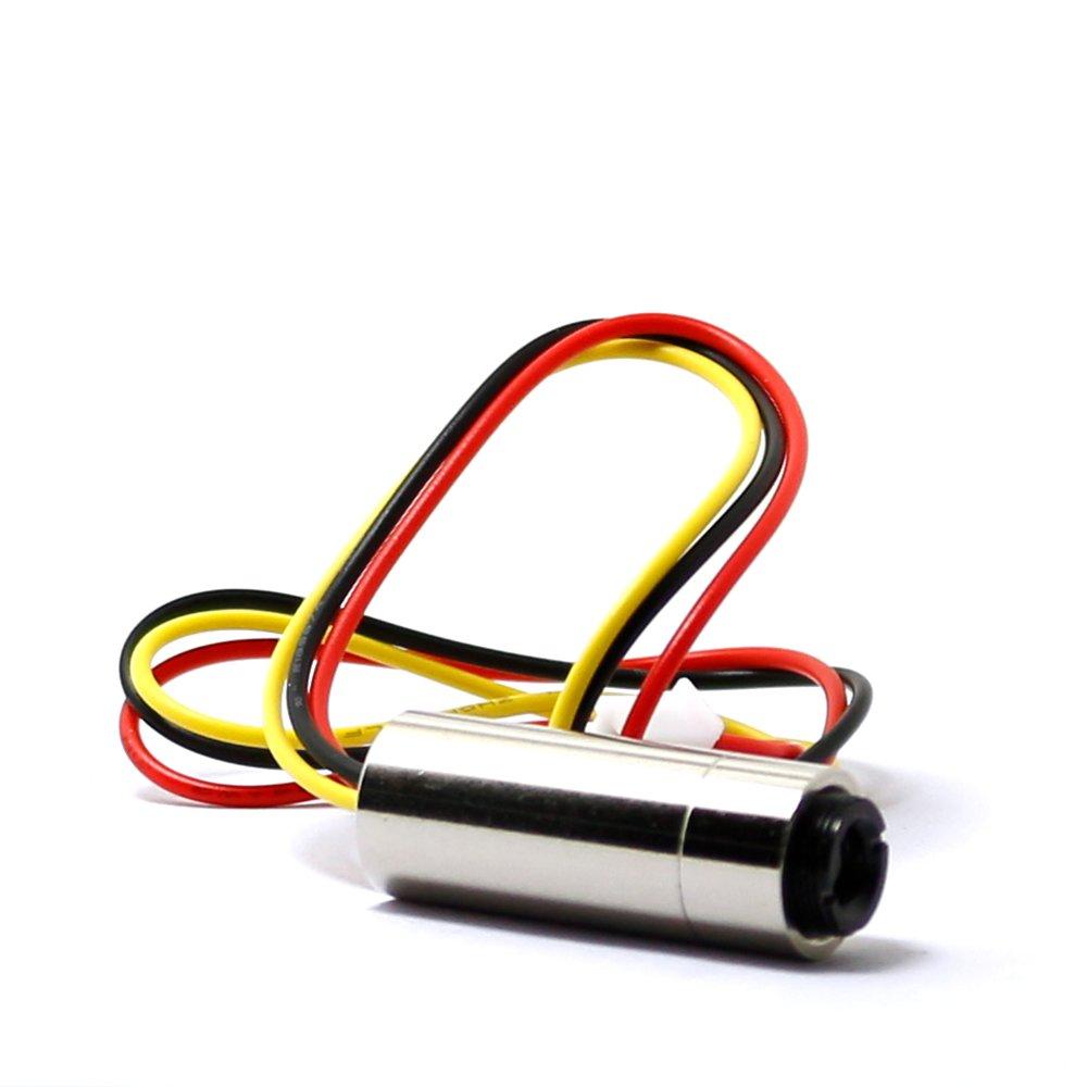 Focusable 980nm Infrared IR Adjusted 30mw Laser Dot Diode Module 3V-5V with TTL 0-15KHz 12x30mm