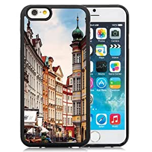 NEW Unique Custom Designed iPhone 6 4.7 Inch TPU Phone Case With Prague Street Corner_Black Phone Case