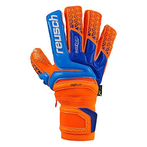 Reusch Mens Prisma Supreme G3 Fusion Ortho-Tec Finger Protection Goalkeeper Gloves for Soccer