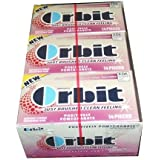 Orbit Positively Pomegranate Sugarfree Gum 14 Piece Packs (Pack of 24)