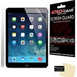"[3 Pack] TECHGEAR® Apple iPad Air, iPad Air 2, iPad Pro 9.7"" CLEAR LCD Screen Protectors"