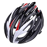 Men's 21 Vents Mountain Road Cycling Helmet Out Sports Bicycle Helmets (White)