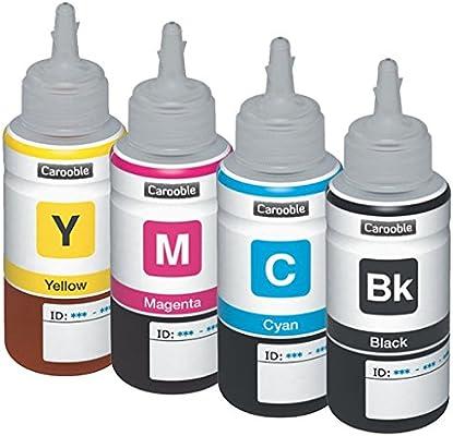 Compatible Epson T664 botellas de tinta negro, cian, Magenta y ...