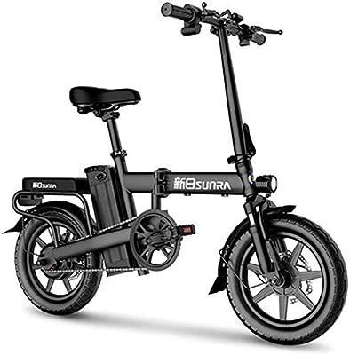 CHEER.COM Bicicleta Eléctrica Bicicleta Eléctrica Plegable De 14 ...
