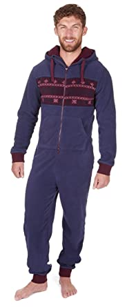 3025a6bed85ef ONEZEE Grenouillère Adulte Homme Polaire- Pyjama  Amazon.fr ...
