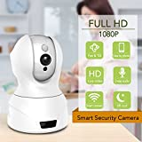 Sundirect S5 2M Pixel HD 1080P Wireless Wifi Network IP Security Camera, Baby Monitor, Night Vision, Remote Surveillance Video, Motion detection, Plug Play, Two Way Audio, IR-Cut