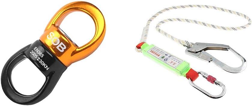 Perfeclan - Cordón de seguridad con mosquetón y rotor ...