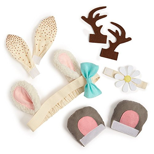 [Seedling Littles Dress Up and Play Animal Ears Headband Costume Kit for Toddlers Ages 2-4] (Play Words Costume Ideas)