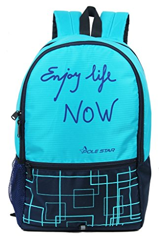 POLESTAR  Hero  32 L Casual Backpack  Teal Blue, Navy