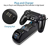 PS4 Controller Charger with Charging Status Display