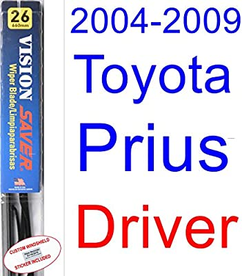2004-2009 Toyota Prius Wiper Blade (Driver) (Saver Automotive Products-Vision Saver) (2005,2006,2007,2008)