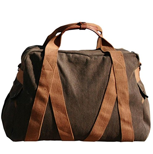 Whillas&Gunn Small Trap Duffle Bag Brown