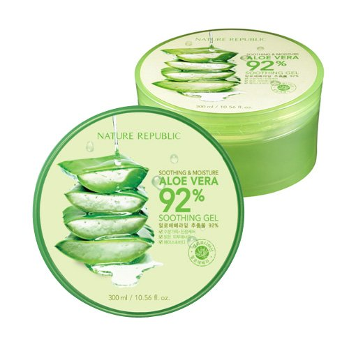 Nature Republic 3 PCS Aloe Vera Soothing Gel, 92% Soothing a