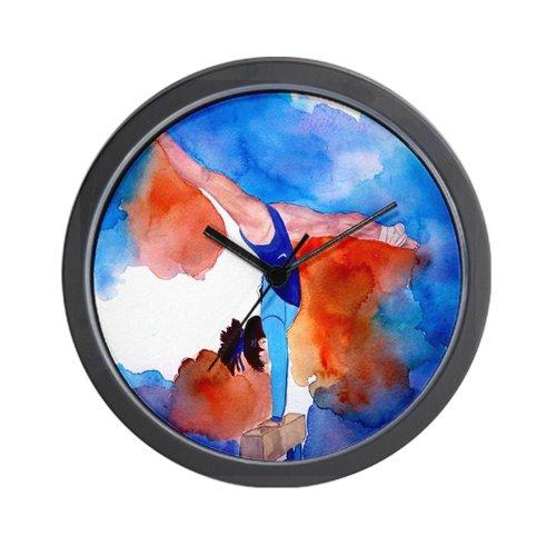 CafePress Balance Beam Gymnastics Wall Clock